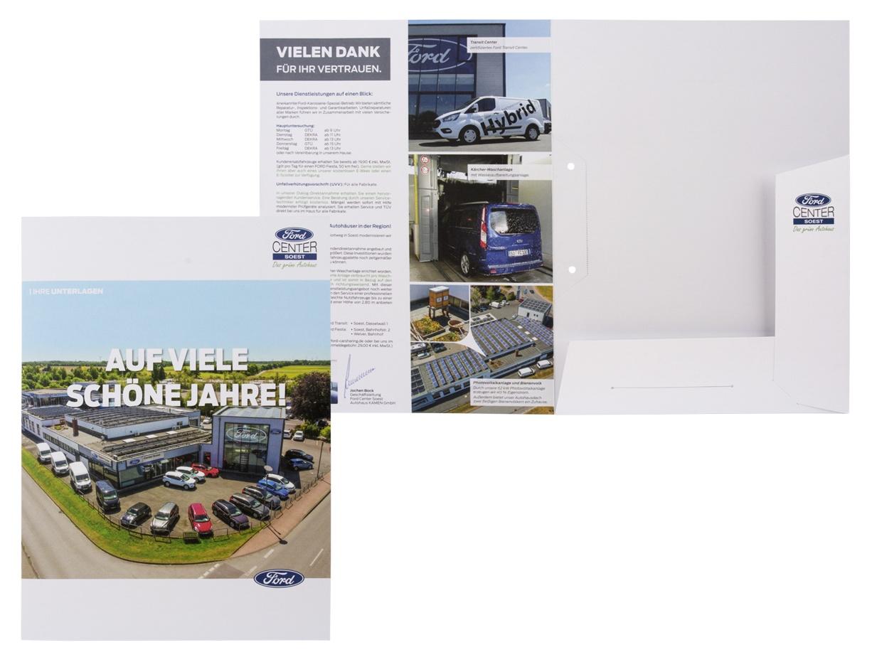 Autohaus-Mappen